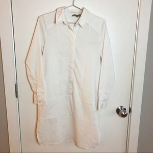 ASOS White Shirt Dress